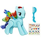 My Little Pony - Mascota de Juguete a la Moda de Pony Rainbow Dash 'Flip and Whirl'