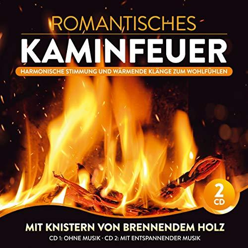 Romantisches Kaminfeuer; Harmonische Stimmung und wärmende Klänge zum Wohlfühlen