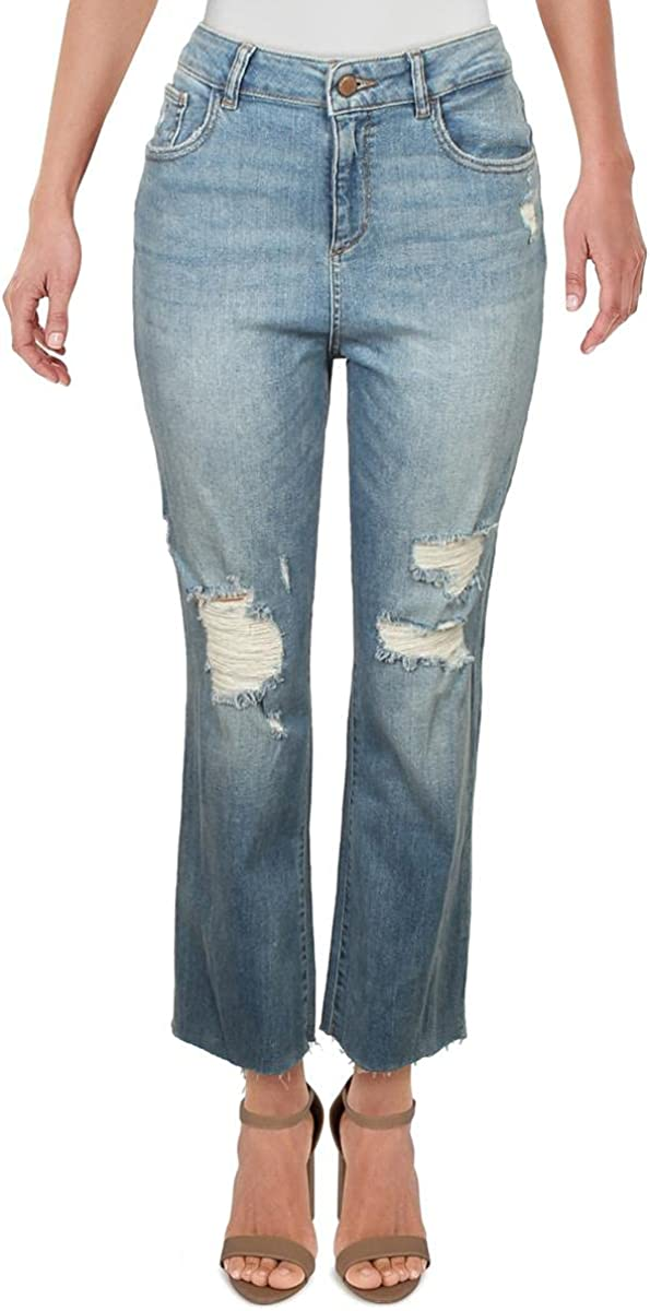 DL1961 Women's Jerry High shopping Rise Limited time cheap sale Fit Straight Jeans Vintage