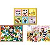 16ピース/25ピース/35ピース ジグソーパズル ディズニー ミッキー&フレンズ/たのしいまいにち【はじめてのジグソーパズル】