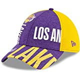 New Era 3930 NBA 2019 Tip Off Series Stretch Fit Cap (Small/Medium, Los Angeles Lakers)