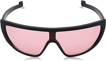 نظارة شمس كبيرة الحجم بعدسات مستقطبة واطراف اذرع مفرغة للجنسين من باواكا - اسود وروز