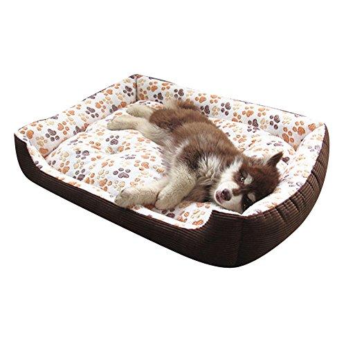 Wasserfestes Pflegeleichtes Hundebett Hundehütte Größen Erhältlich für Extra Große Hunde Beige