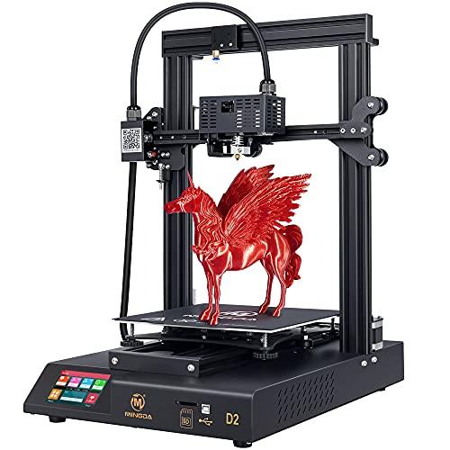 MINGDA 3D Drucker mit Direktextruder, Silent Mainboards TMC2208 Drive, 3,5 Zoll Touchscreen, Größe 230 x 230 x 260 mm (P-D2)