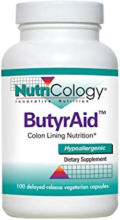 NutriCology ButyrAid 100 Delayed-Released Vegetarian Capsules