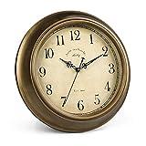 BEI&YANG Reloj De Pared Antiguo Reloj De Pared Antiguo para Sala De Estar Reloj De Pared Reloj Atmosférico Reloj De Pared Silencioso-14 Pulgadas_1