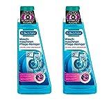 Dr. Beckmann Waschmaschinen Pflege-Reiniger | 2x 250 ml | Maschinenreiniger mit Aktivkohle