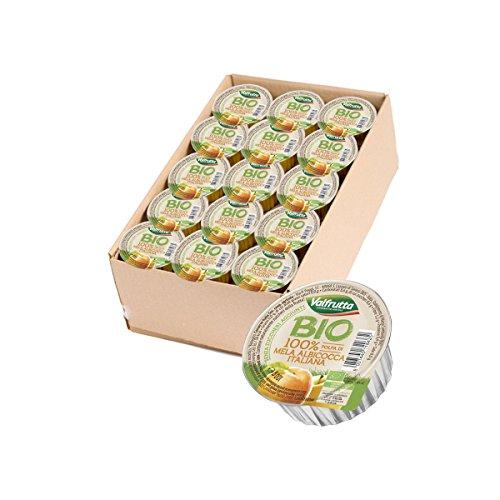 Valfrutta - Polpa di mela e albicocca 60 pz