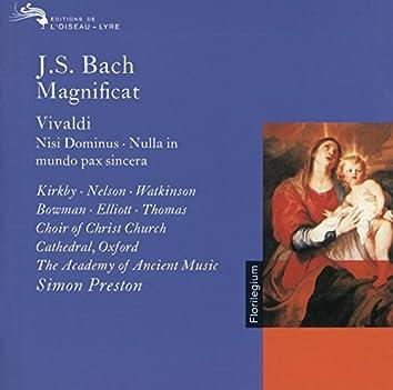 Bach, J.S. / Vivaldi: Magnificat / Nisi Dominus / Nulla in Mundo Pax Sincera etc.
