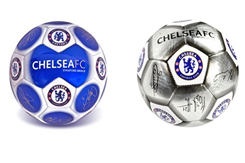 Chelsea FC oficial Signature Blasón Fútbol (talla 5)