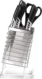 Anchor Multifonctions Support for Couteaux Support de Rangement en Acier Inoxydable Couteau de Cuisine Porte-Bloc Ciseaux ...