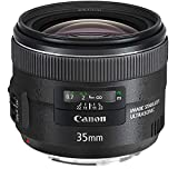Canon EF 35mm f/2 IS USM Wide-Angle Lens (Renewed)