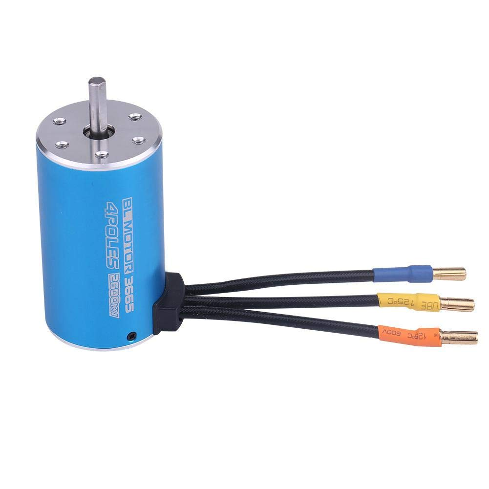 VGEBY1 Surpass 3665 4 Poles Brushless Motor for Remote Contr