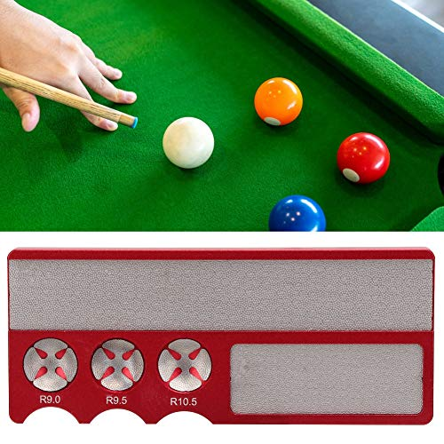 Alomejor 2pcs Billiard Chalk Case Non-Slip Cue Tip Chalk Billiard Pool Cue Chalk Holder with Cord for Snooker Pool Replacement