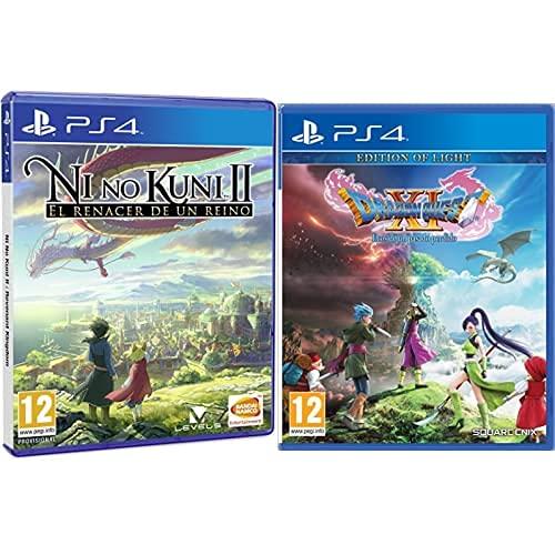 Ni No Kuni Ii: El Renacer De Un Reino Estándar + Dragon Quest XI : Ecos de un Pasado Perdido Edition of Light