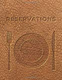 2021 Restaurant Reservations Book: Dated pages - 365 days Guest Booking Diary & Hostess Table Log Journal from 01/01/2021 to 12/31/2021