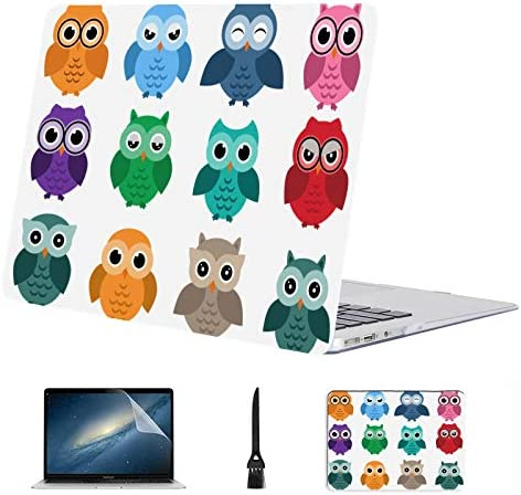 MacBook Pro 13 Cover Cute Owl Girl Popular Top Plastic Hard Shell Compatible Mac Air 13 Pro product image