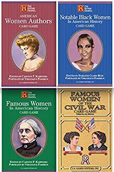 Famous and Notable Women in History Card Games Bundle - 4 Items  American Women Authors Notable Black Women in American History Famous Women in American History & Famous Women of The Civil War