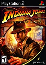 Indiana Jones and the Staff of Kings - PlayStation 2 by LucasArts