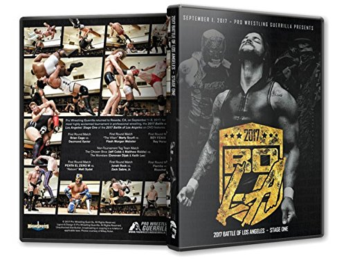Official Pro Wrestling Guerrilla PWG - Battle of Los Angeles BOLA 2017 Stage 1 Event Blu-Ray