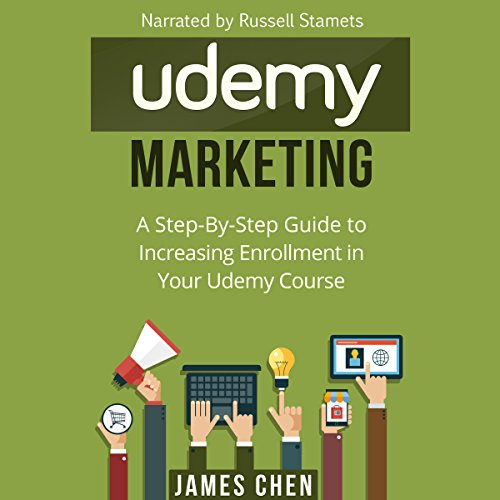 Udemy Marketing audiobook cover art