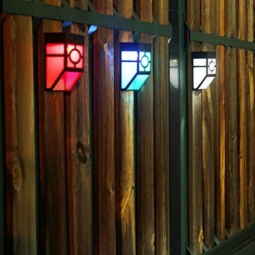 Xirfuni Luz de Exterior, lámpara de Pared, lámpara de Pared, Patios Retro para Vallas de jardín para Patio