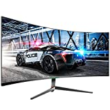 TITAN ARMY C30SK-PRO 30 inch 200HZ Curved Gaming Monitor 21:9 PIP/PBP Display 2560x1080 Ultra Wide...