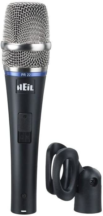 Heil outlet PR-22 SUT Dynamic Switch Microphone Mail order Vocal w