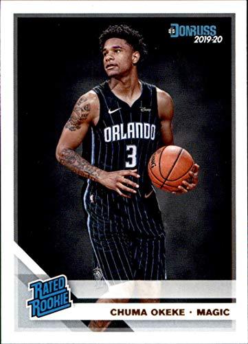 2019-20 Donruss #215 Chuma Okeke Orlando Magic RC Rookie NBA Basketball Trading Card