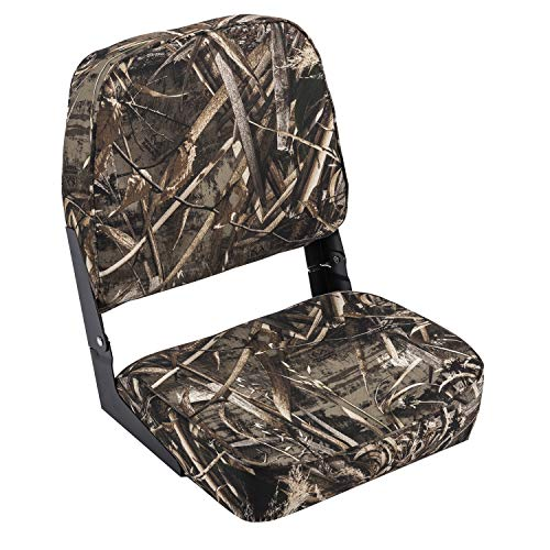 Wise Outdoors Posteriore Standard Camouflage Duck Boat sedili (Realtree Max-5)