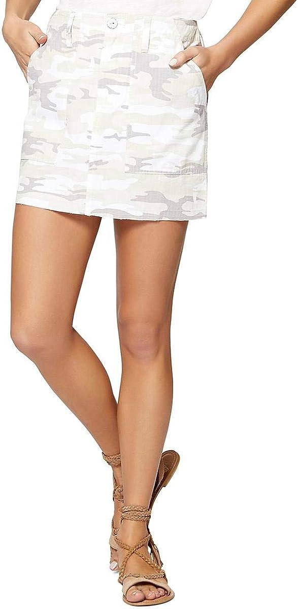Sanctuary Clothing Womens Released Hem Mini Skirt