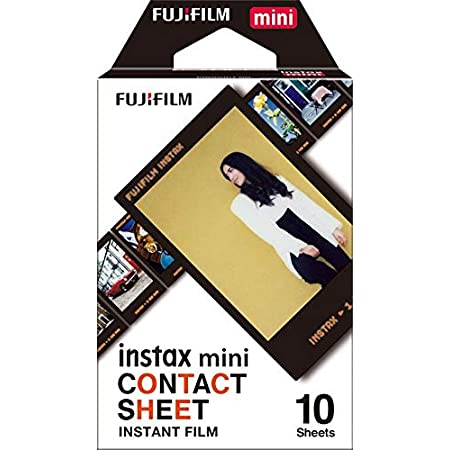 FUJIFILM インスタントカメラ チェキ用フィルム 10枚入 コンタクトシート INSTAX MINI CONTACT WW 1