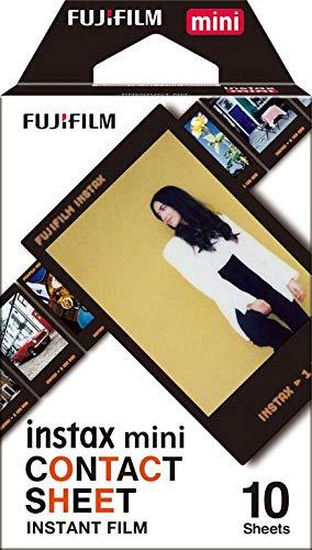 Fujifilm Instax Mini Film Pellicola, Foglio di Contatto, Confezione da 10 Foto
