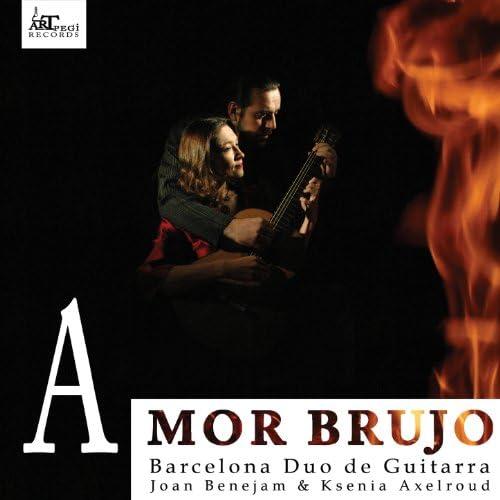 Barcelona duo de guitarra feat. Joan Benejam & Ksenia Axelroud