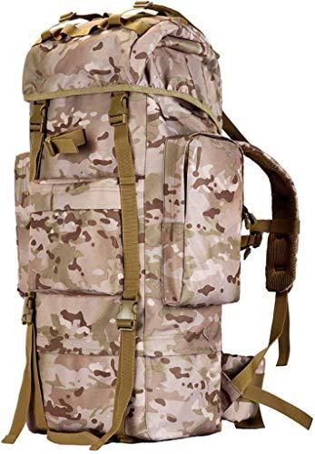 WYJW Mountaineering tas outdoor rugzak RAIN COVER tactische berg schouder grote capaciteit reizen camouflage reistas mannelijke 100L
