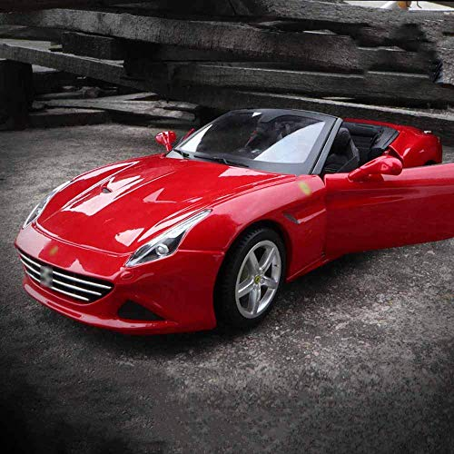 NLRHH Weaston 1:18 Metal Die-casting Car Alloy Model Car California T Supercar Miniauto Roadster Children's Toy Gifts Adult Collectibles Ornaments Interior Decoration peng