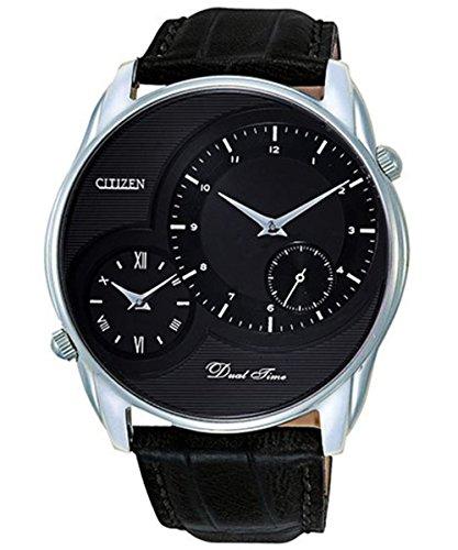シチズン CITIZEN クオーツ メンズ デュアルタイム 腕時計 AO3009-04E ブラック [並行輸入品]