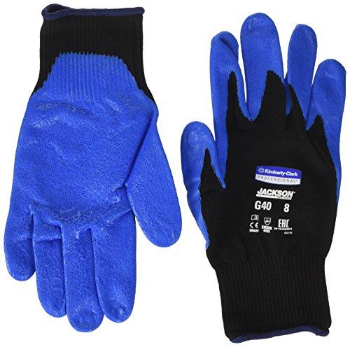 Kimberly Clark 40226 Jackson Safety G40 Schaumbeschichtete Handschuhe, Handspezifisch, blau (12 stuck)