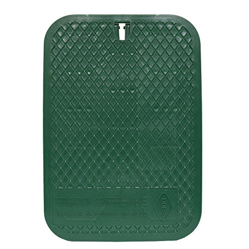 Dura Valve Box Replacement Lid Size 12' x 17' Color Green