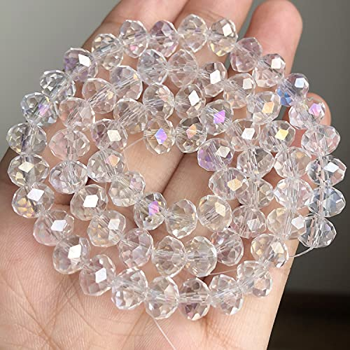 NHFVIRE Piedra Natural Negro Matte Onyx Agates Beads Redondo Frost Polish Polaco Agat Beads para la fabricación de joyería AB Crystal 12mm 30pcs Beads