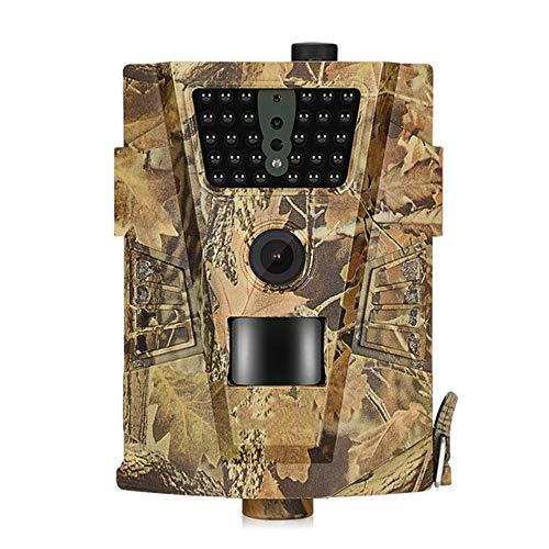 TIAO Cámara de Caza al Aire Libre, Plug-and-Play 1080P HD cámara de vigilancia infrarroja cámara de visión Nocturna térmica