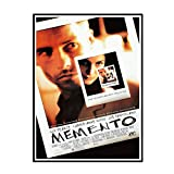 Swarouskll Memento (2000) Vintage Movie Art Leinwand Poster