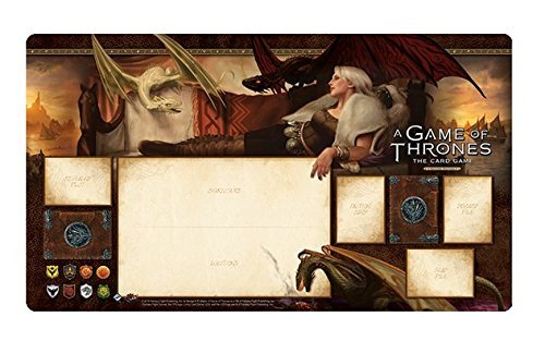 A Game of Thrones the Living Card Game: Stormborm Playmat by Fantasy Flight Games