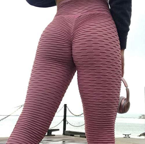 Pantalones de yoga leggings mujer pantalones deportivos mujer fitness gimnasio ropa empuje apretado ejercicio anti-naranja cáscara plantas alta cintura activo desgaste