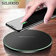 Alpes-Mobile Phone Chargers - F2 10W Fast Wireless Charger UMIDIGI F1 Play USB Qi Charging Pad UMIDIGI A5 Pro One Max S2 Z2 UMIDIGI Power 3 S3 Pro (UMIDIGI One Pro black)