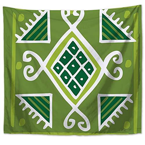 WERT Tapiz de Pared con patrón de Mandala para el hogar, decoración del hogar, tapices de Estilos para Colgar en la Pared, tapices para Sala de Estar, Dormitorio A16, 200x150cm