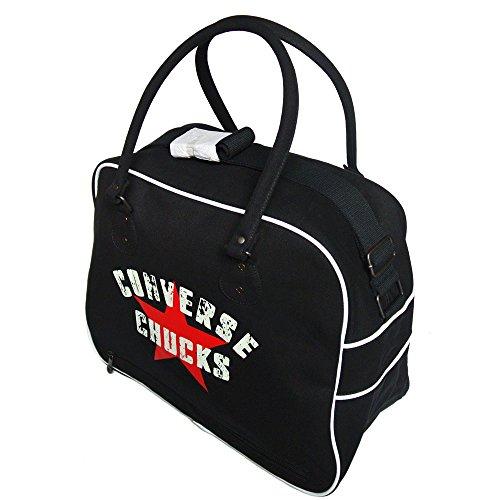 Converse 98335 Black - Bolsa de deporte Unisex, color negro