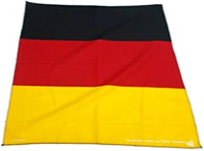 50x50 cm German Handkerchief Cotton pocket square Hanky Bandana Scarf Hankie Headband World Cup Flag German Euro 2016