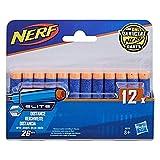 Nerf - Pack de 12 Dardos Elite (Hasbro A0350492)