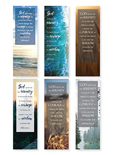 Serenity Prayer Bookmarks - Pack of 48